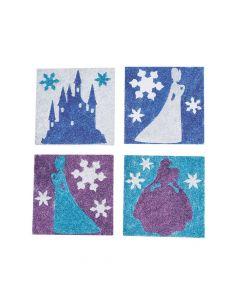 Winter Princess Glitter Art Pictures
