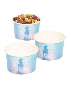 Winter Princess Snack Cups