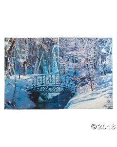 Winter Wonderland Backdrop