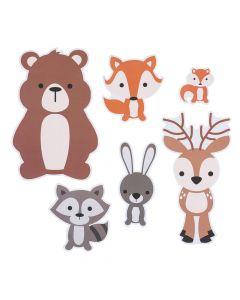 Woodland Party Animal Cutouts