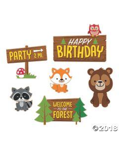 Woodland Party Cutouts