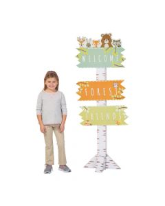 Woodland Party Directional Sign