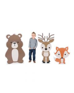 Woodland Party Stand-Ups Set