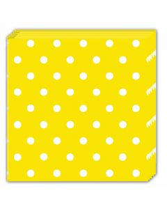 Yellow Dots Lunch Napkin