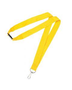 Yellow Nylon Lanyards