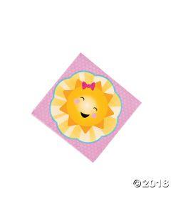 You Are My Sunshine Luncheon Napkins