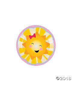 You Are My Sunshine Paper Dessert Plates