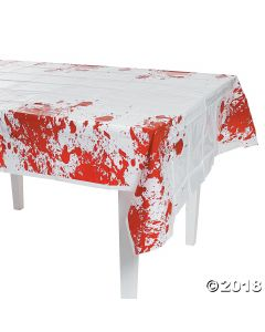 Zombie Party Plastic Tablecloth