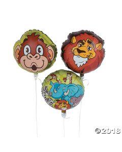 Zoo Adventure Mylar Balloons